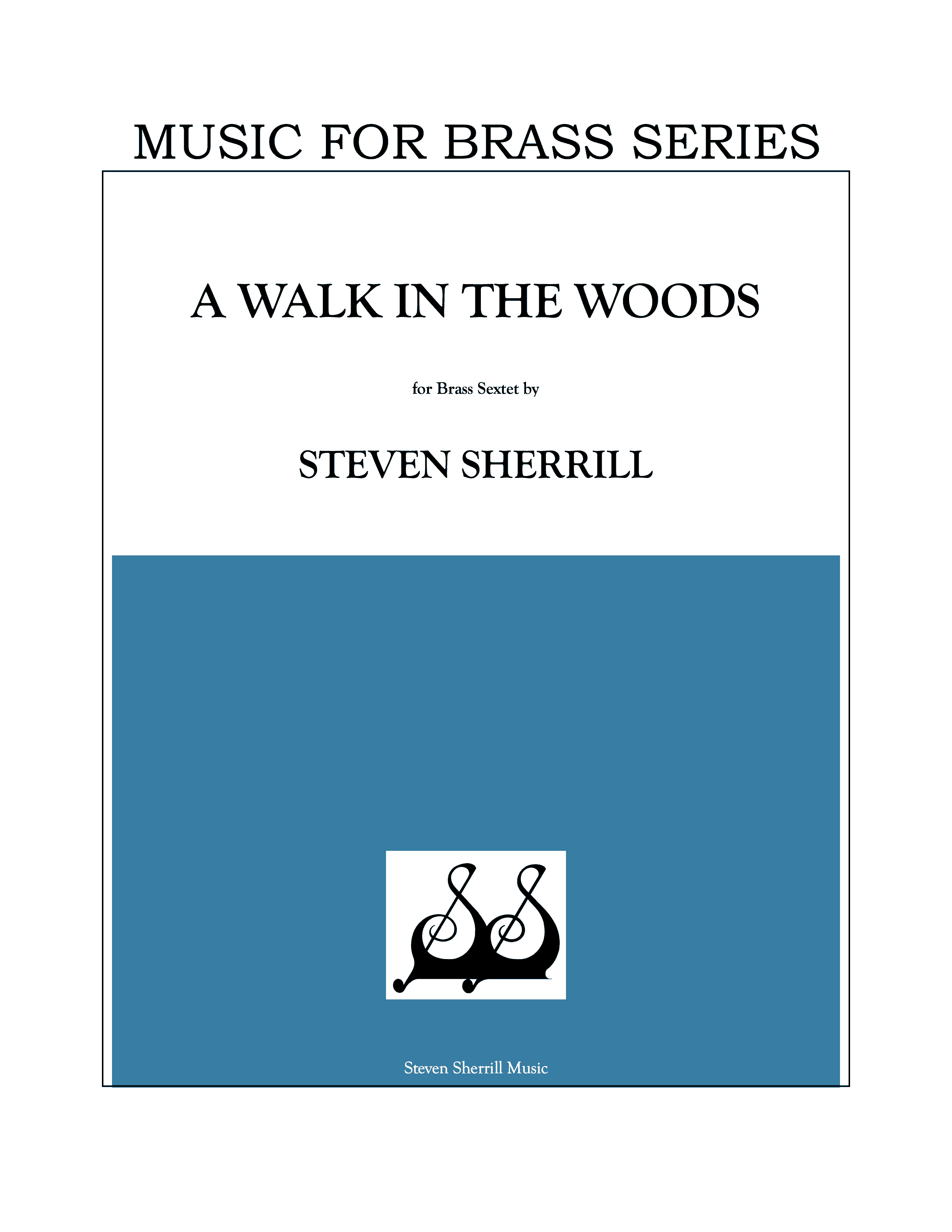 Walk in the Woods, A cover page